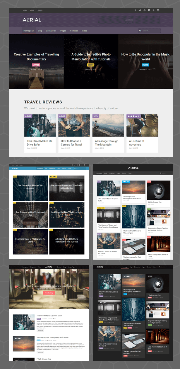 Aerial - Layers Magazine WordPress Theme